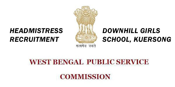 WBPSC HEADMISTRESS RECRUITMENT