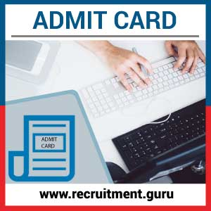 DSRVS Admit Card 2020 Available for Lab Assistant, Apprentice & Others @ dsrvs.com