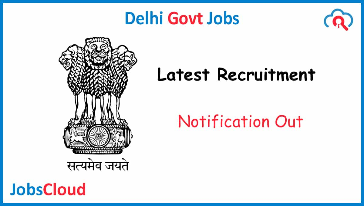 NDMC Psychiatrist Recruitment 2020 - 01 Post