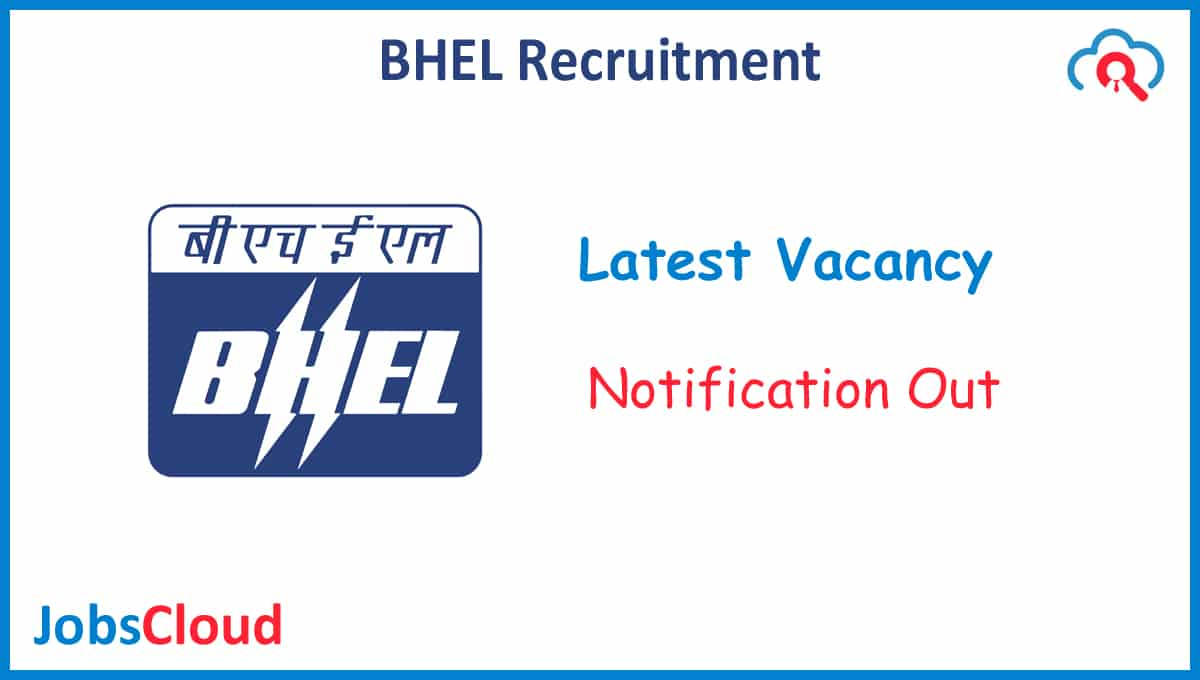 BHEL Recruitment 2020: Executive Director, GM Post, Salary 300000 - Apply Now