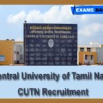 Central University of Tamil Nadu Recruitment 2020 Out – Apply for SRF Posts Here!!!