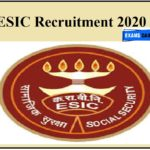 ESIC Recruitment 2020 Out – Apply for Assistant Professor Posts