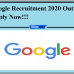 Google Recruitment 2020 Out – Apply Now!!!