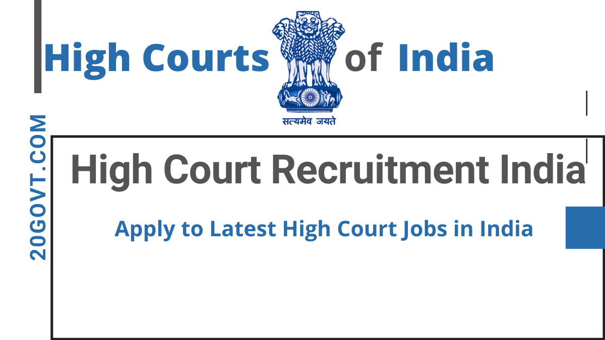 High Court Recruitment Apply to Latest High Court Jobs in India-1200x675