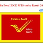 India Post Result 2020 – Download Haryana Circle LDCE MTS cadre Selection List!!