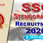 SSC Stenographer Notification 2020 (Out): Online Application Begins - Apply Now