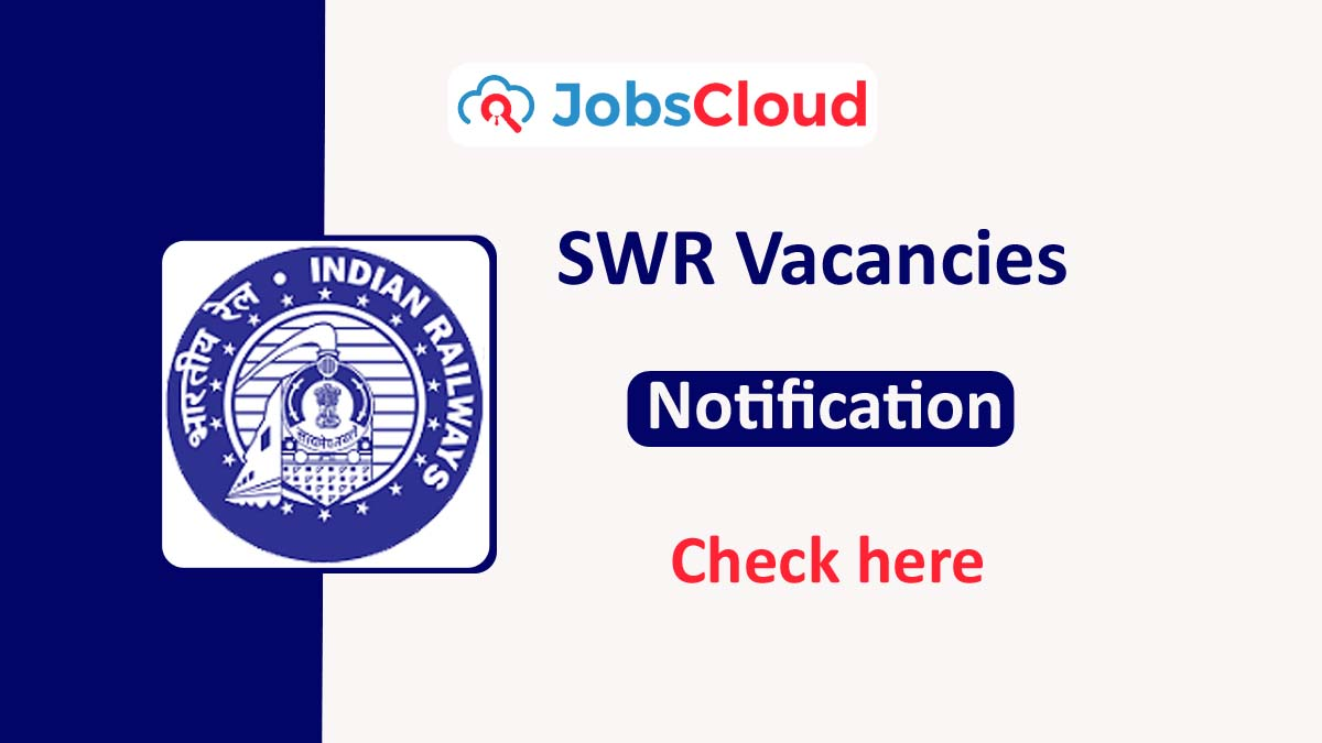 South Western Railway Recruitment 2020: Group C Posts – Apply Now