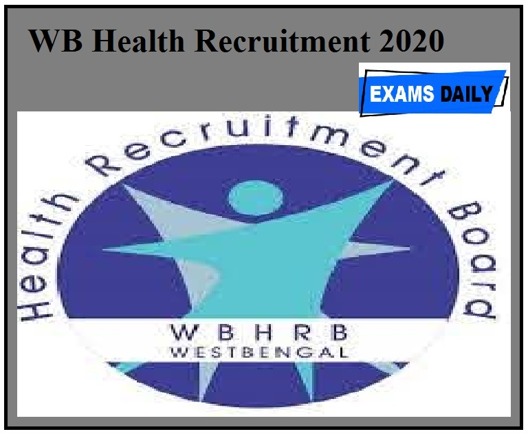 WB Health Recruitment 2020 Out – Walk in for Research Officer Posts Here!!!