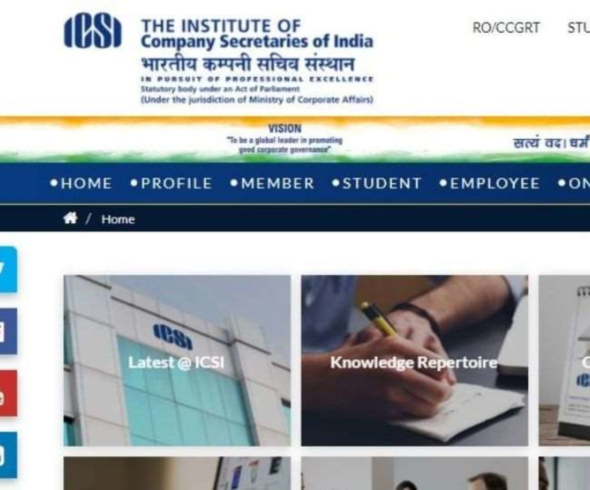ICSI has announced the schedule for CS June 5 exams for