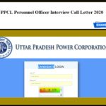 UPPCL PO Admit Card 2020 Out – Download UP Energy Personnel Officer Interview Call Letter!!