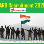 ARO Recruitment 2021 Notification Out – 10th/12th/8th Pass can apply online!!!