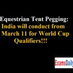 India will conduct from March 11 for World Cup Qualifiers!!!