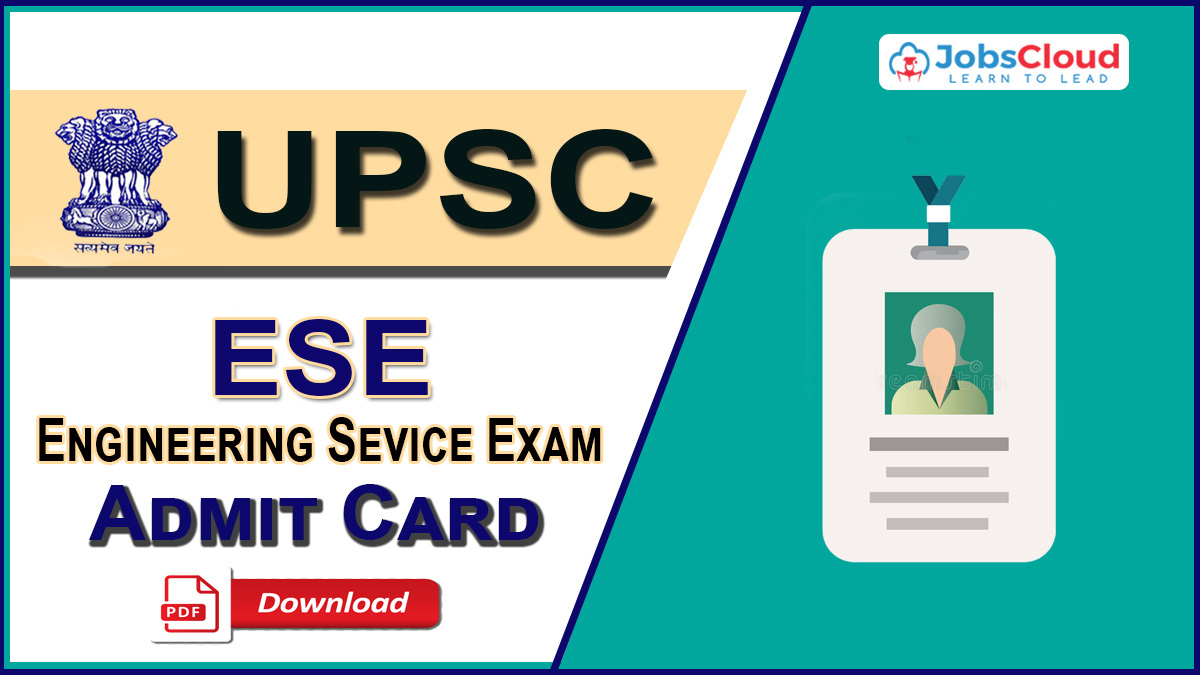 UPSC ESE Admit Card 2021: Download Call Letter Here
