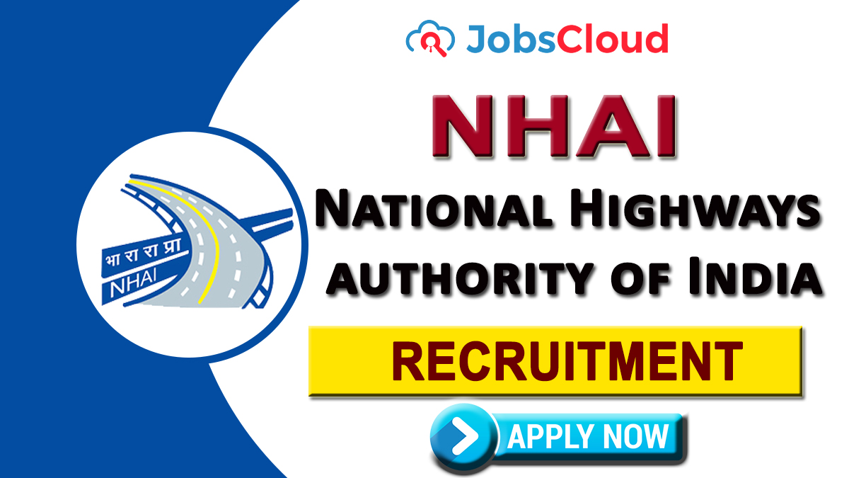 NHAI Recruitment 2021: Vice President Posts - Apply Now