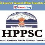 HPPSC Assistant Research Officer Exam Date 2021 – Check Research Officer Class II Admit Card @ hppsc.hp.gov.in!!!